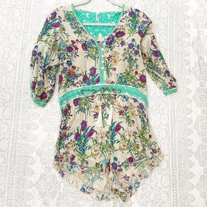 Spell & The Gypsy Collective Queen Floral Romper